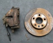 GALAXY 95-00 ALHAMBRA SHARAN 2.3 16V BRAKE DISC & CALIPER OSF RH RIGHT FRONT